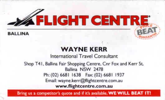 Wayne's Business Card