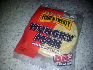 """""""Hungry Man"""" Pie"""