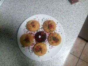 sprinkles on donuts