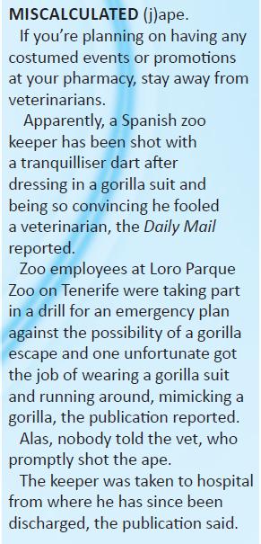 Gorilla Monday